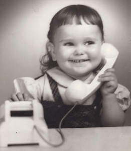 A WBE in the making…Linda Hawkins has vivid memories of shuffling papers and making calls on her toy telephone as a little girl.